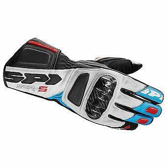 Spidi GB Street 5 Glove White Blue Red A175-085