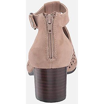 Bella Vita Femei 50-5596 Piele de căprioară Peep Toe Casual T-curea sandale