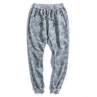 Men Loose Casual Camouflage Joggers Harem Clothing