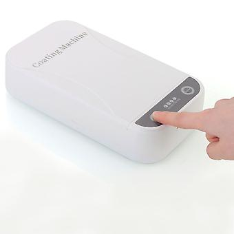 5v Usb Portable Dual Uv Light Sterilizer Box-  Jewelry Phones Cleaner (white)