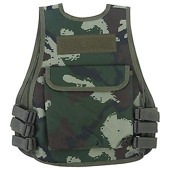Combat Style Vest - Kamouflage jaktkläder
