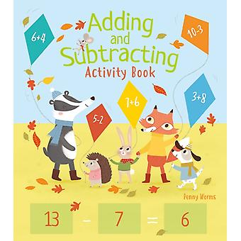 Adding and Subtracting Activity Book by Worms & Penny
