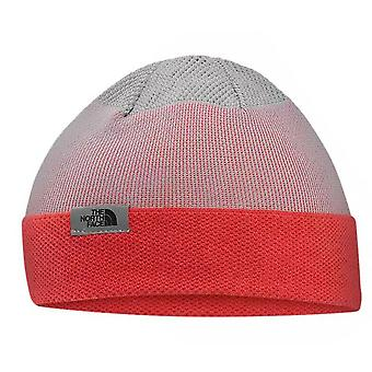 The North Face Runners Shinsky Outdoor Unisex Beanie Grey Red NF0A2T6RLHE A18A