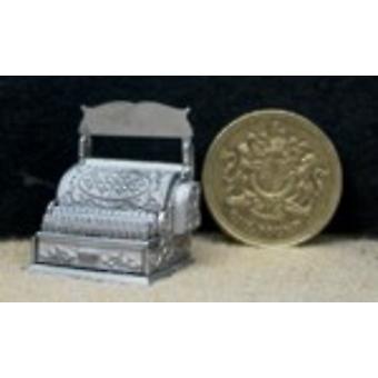 Dolls House 1:24 Scale Till Cash Register Kit White Metal Shop Store Accessory