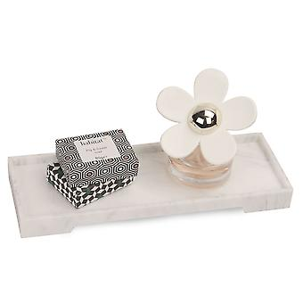 Marble Effect Vanity Tray | Pukkr Small