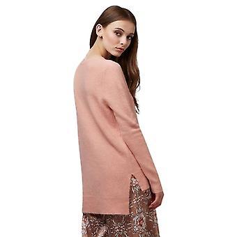 Louche Morgane Step Hem Jumper Pink