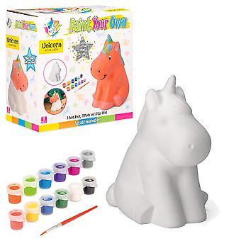 Made it! ty6040 unicorn money box craft painting set for kids