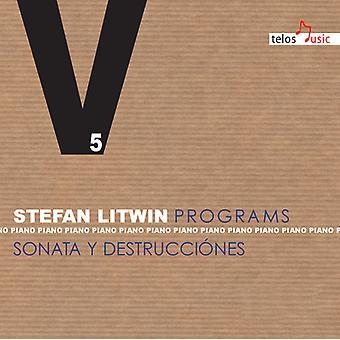 Shostakovich / Litwin / Eisler / Janacek - Programs 5-Sons & Destructions [CD] USA import