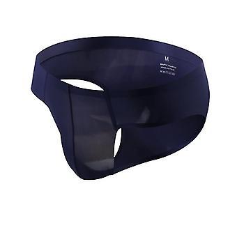 Rugalmas varrat nélküli selyem szexi fehérnemű rövidnadrág lélegző szilárd varrat nélküli alacsony derék