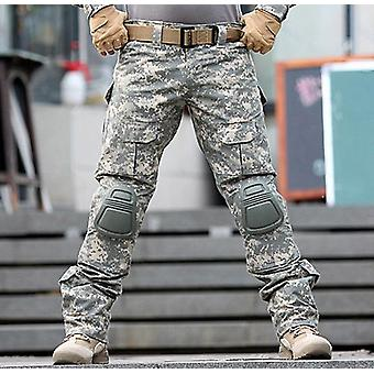 Army Military Uniform Trouser Frog Paintball Combat Pants With Knee Pads