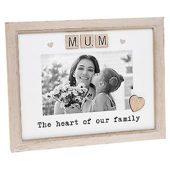 Shudehill Giftware Scrabble Sentiment - Mum 6 X 4 Photo Frame