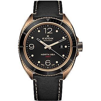 Edox 80118 BRN N67 North Sea Heren Horloge