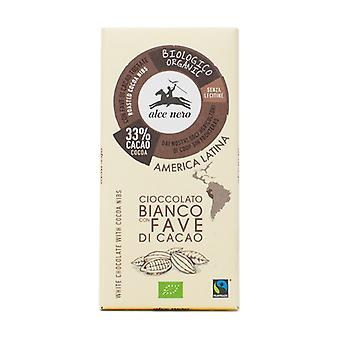 White Chocolate with Cocoa Nibs 100 g