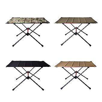 Opvouwbare tafel kraam draagbare outdoor eenvoudige eetkamerstoel klein aluminium huis