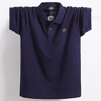 Sommer Mænd Polo Shirt Tøj, Pure Bomuld, Kort ærmer, Åndbar