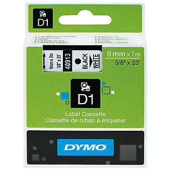 DYMO S0720680 D1 Tape 9mm x 7m Black on White.