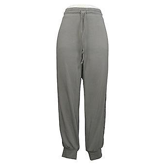 Alle kvinner's bukser koselig strikk fransk terry animal print jogger A381289