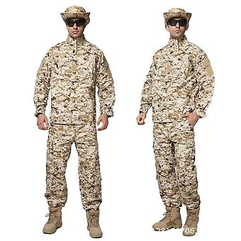 Militar Uniform Army Taktisk Soldat Utendørs Kamp Acu Kamuflasje Spesielle