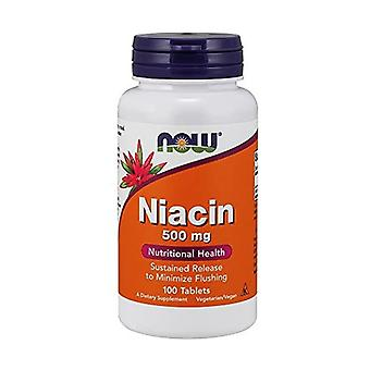 Niacin 100 vegetable capsules
