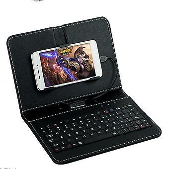 Tableta teclado general cableado teclado voltear funda funda funda