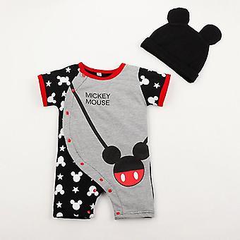 Baby Minnie Maus mit Hut Onesies Jumpsuit Kleidung