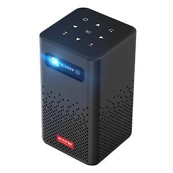 BYINTEK P20 LED Mini projektori 5200mAh akku - Beamer Home Media Player Musta