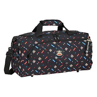 Sports bag Paul Frank Retro Gamer Black (25 L)