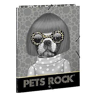 Folder Pets Rock A4