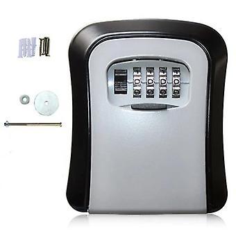 Key Safe Storage Organizer Boxy Se 4místným heslem Náhradní klíče Organizátor Box