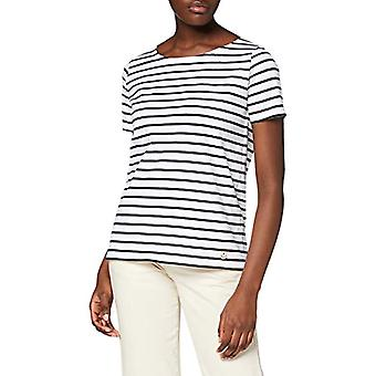 Armor Lux Hoedic T-Shirt, Multicolor (Blanc/Rich Navy Bi9), XX-Large (One Size: 5) Women