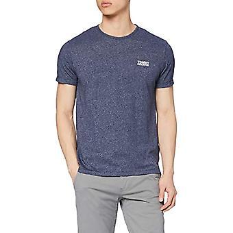 Tommy Hilfiger Modern Jaspe T-Shirt, Blau (Black Iris 002), M Herren