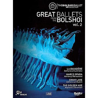Great Ballets From the Bolshoi 2 [DVD] USA import