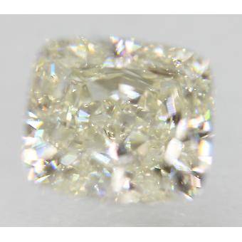 معتمد 0.82 قيراط H اللون VVS2 وسادة الماس فضفاضة الطبيعية 5.41x4.78mm