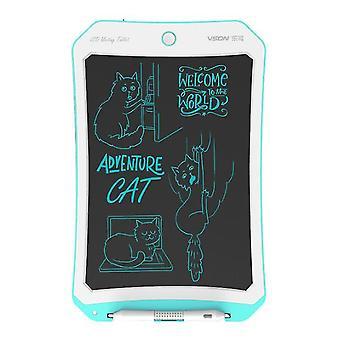 Kék+fehér 8,5 hüvelykes lcd rajztábla, intelligens, kézzel festett tábla gyermekgraffiti íráshoz az5942