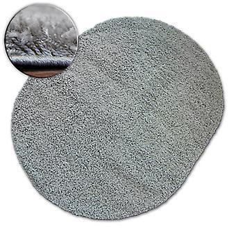 Rug oval SHAGGY GALAXY 9000 grey