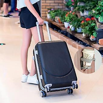 Hot 20-28 Inch Rolling Luggage, Abs+pc Women Travel Suitcase