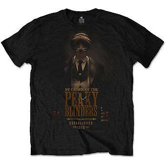Peaky Blinders - Etablerad 1919 Mäns Stora T-Shirt - Svart