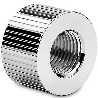 EK Water Blocks EK-Quantum Torque 14mm Static Male/Female Extender - Nickel