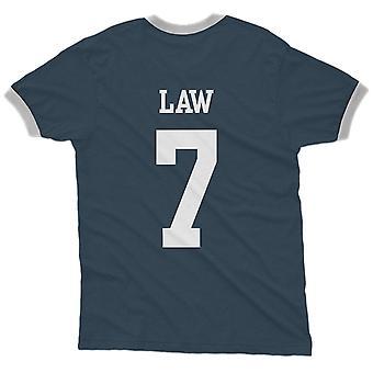 Denis law 7 scotland country ringer t-shirt