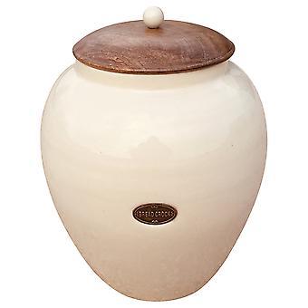 Sahne Keramik Brotbehälter