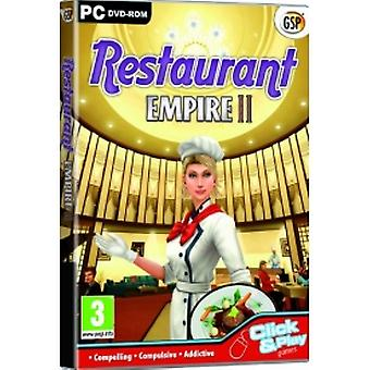 Restaurant Empire II Jeu PC