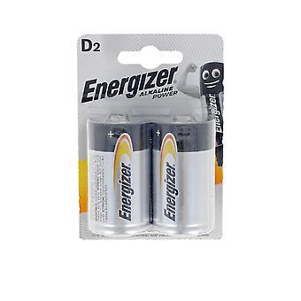 Energizer Energizer Power Lr20 D Pilas Pack X 2 Uds Unisex