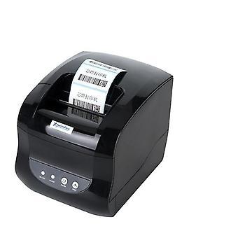 2-in-1 Lämpöetiketti, Viivakoodi Tarra & Kuitti tulostimet, Bill Machine