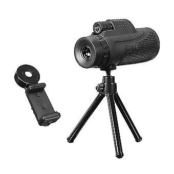 40x60 Telescope Lens Travelling Telescope With Tripod Cell Phone Holder