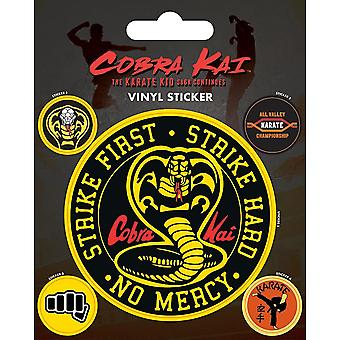 Cobra Kai Stickers (Pack of 5)