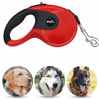 Haustier Hunde Hochwertige Automatische Teleskopseil ABS Gummi Rutschfeste Sicherheitskette Seil, Seillänge: