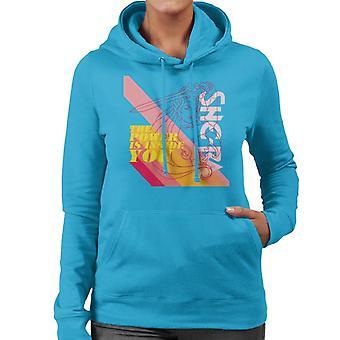 She-Ra Outline The Power Is Inside You Women's Hooded Sweatshirt
