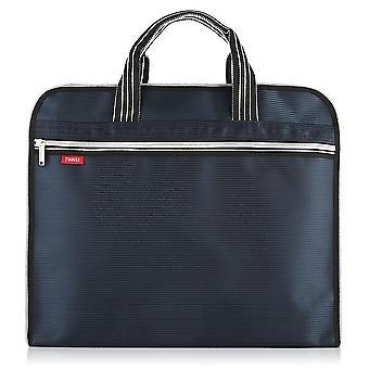 حقيبة وثيقة A4 زيبر حقيبة قماش حقيبة يد رجالية