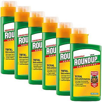 Sparset: 6 x ROUNDUP® Universal, 500 ml