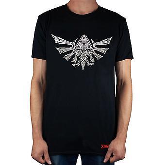 Legend Of Zelda Mens Logo Short-Sleeved T-Shirt